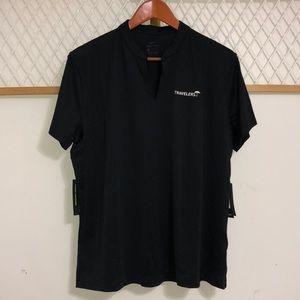 NIKE Womens Dri-Fit Golf V-Neck T-Shirt